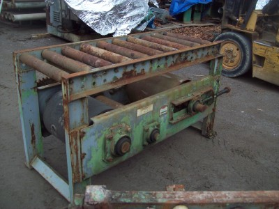 convoyeurs, Convoyeurs à rouleaux, Alimentation de scie à fer, convoyeur à bois