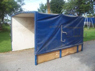 camionnette petit camion boite de petit camion poteaux pour semi remorque support de toiles. Black Bedroom Furniture Sets. Home Design Ideas