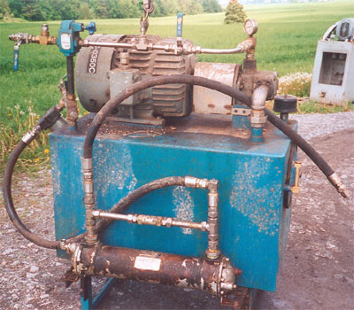 Pompes hydrauliques, Hydraulics pumps