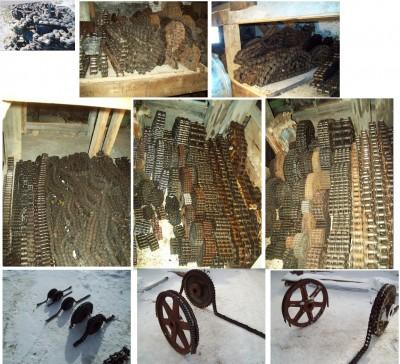 Chaines à rouleaux, usine de sciage, engrenage, chaines, convoyeurs, chaine à dos.