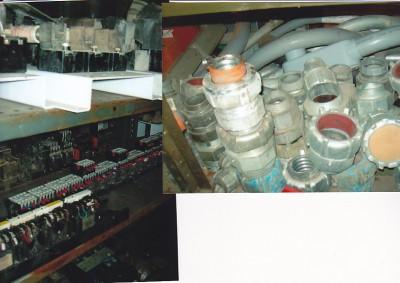 Électricité, starters électriques, contacteurs, bloque à fusibles, motors starters, interrupteur avec relais ajustable, contacteur avec overboad, overboad ajustable, fuses, connecteurs tech.