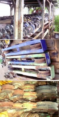 Roues sur rail, Roues, chariots, chariots transporteurs, manutention, outillage de garage, machineries � bois, chop � fer, transport, entreposage