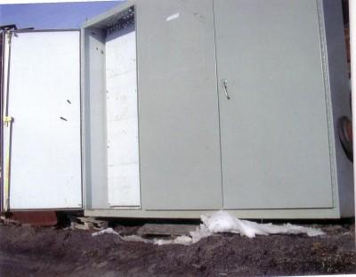 Boite électrique, Électronique, Armoire de rangement, Coffre de sécurité Armoire de rangement sur chantier, distribution électrique