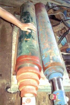 hydraulique, cylindre hydraulique, presse, machinerie lourde, atelier d'usinage et de soudure, fonderie, extrudeur
