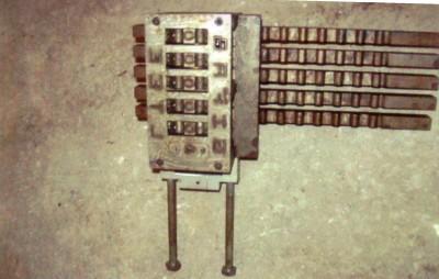 Estampeurs,  poinçonneuse, marqueurs, numéroteur, marquage de pièces, marquage de métaux divers, identification de pièces par poinçonnage, lettres et chiffres