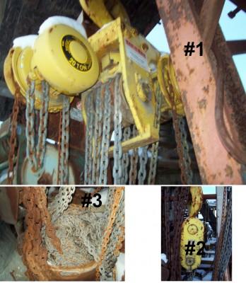 Agricole, câbles d'acier, Palan, Chaines, Levage