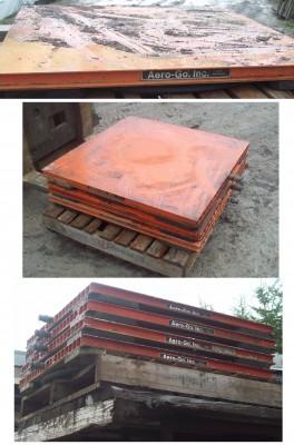 Plateformes élévatrices, Plateau à air, Remorquage lourd, Pont élévateur, table de travail, Air Caster