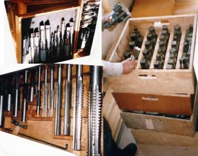 Taraud intérieur, NC et NF et Pipe, Milling cutters, Fraises, Alésoirs, Milling cutters