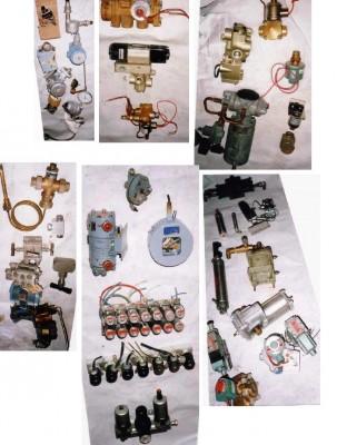 Valves, Valve à air électrique, Valves avec jauge de température, Instrumentation et air, Cylindre à air, valve à air, débitmètre, moteur à air et à piston. Lecteur de température, Transmetteurs