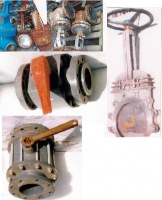 Valve d'arr�t, safety valves